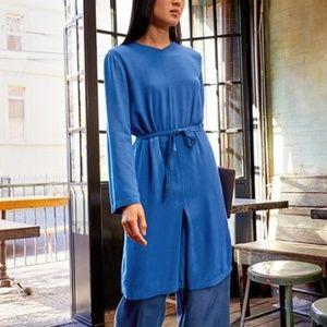 NWT Uniqlo X Hana Tajima Rayon Long Sleeve Tunic
